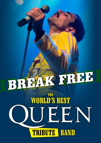BREAK FREE .TRIBUTO A QUEEN